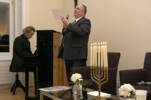 musical direction Frank Johnny Schütten, vocals Kantor Robert Singer (Israelische Kultusgemeinde Wien)